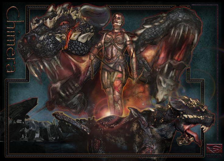 CHIMERA, MOL LOY on ArtStation at https://www.artstation.com/artwork/chimera-6a2a6626-0760-4fb4-a2d6-c6cb95b0453f