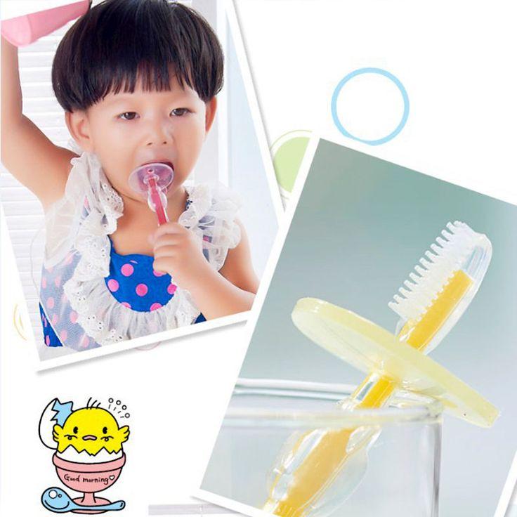1ピースシリコン子供おしゃぶりトレーニング歯ブラシ用子供赤ちゃん歯ブラシ幼児新生児ブラシツール