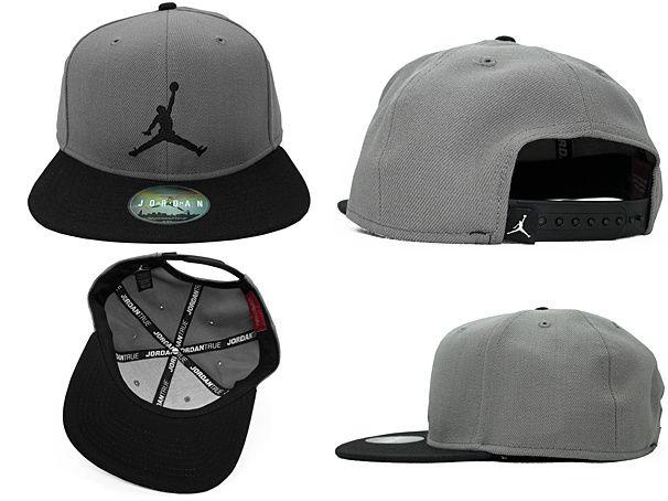 Jordan Brand Caps Gray Snapback Hats 056