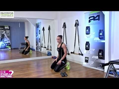EXERCITII PENTRU BRATE & UMERI - YouTube