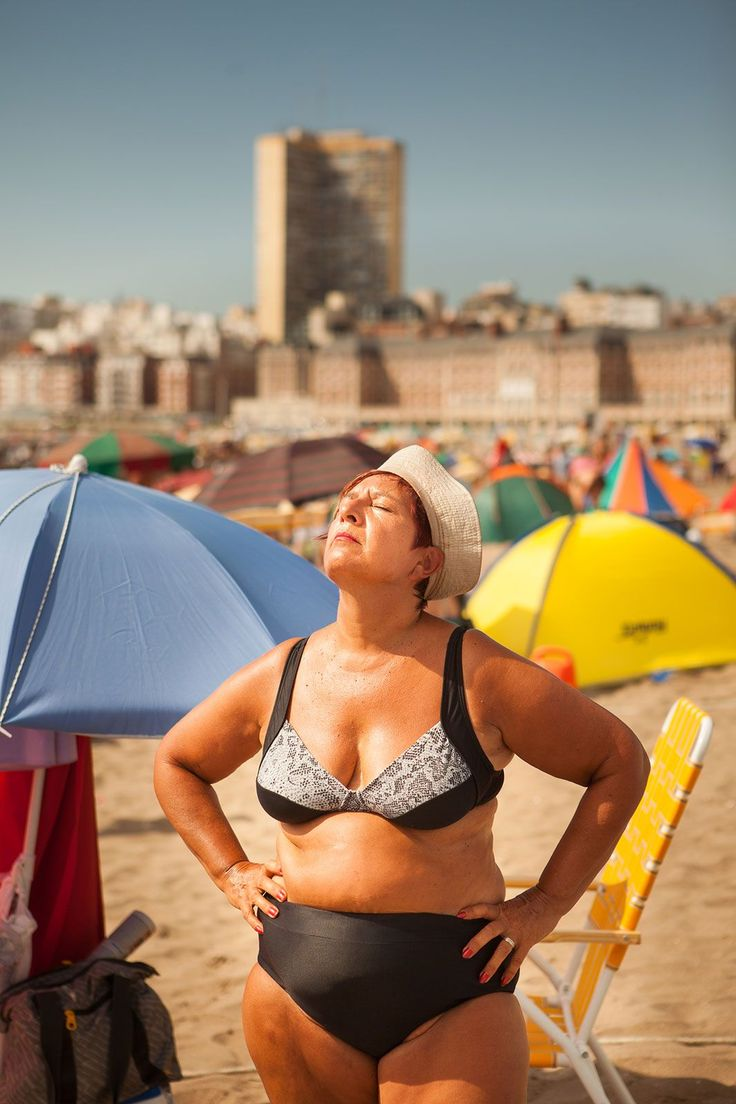 14 Photos That Show You Can Rock A Swimsuit At Any Age #refinery29  http://www.refinery29.com/mar-del-plata-beach-tradition#slide-10  Bristol Beach, Mar del Plata, Argentina. ...