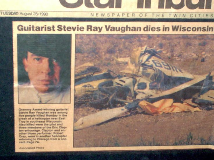 report vaughan Stevie ray autopsy
