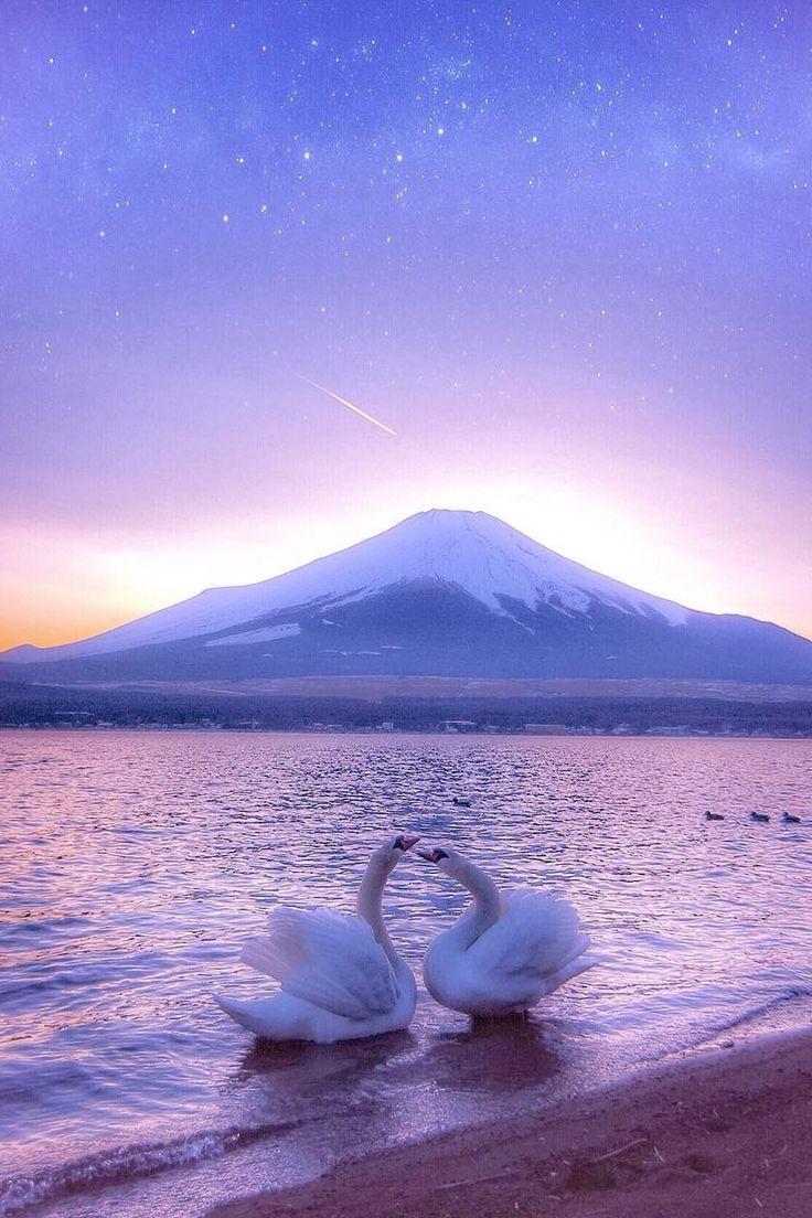 "lsleofskye: ""Lake Yamanaka, Yamanashi, Japan """