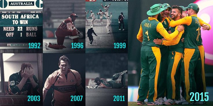 One of the biggest anomalies in cricketing history has been erased: SA have won a World Cup knockout game #CWC15