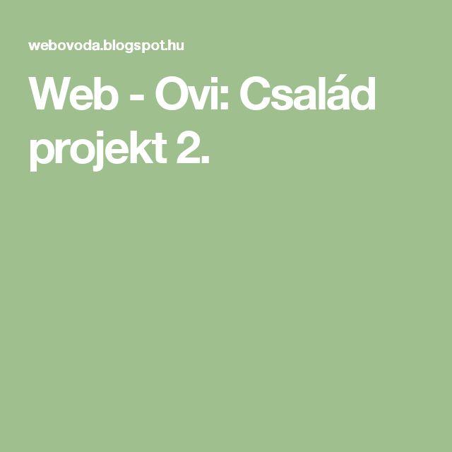 Web - Ovi: Család projekt 2.