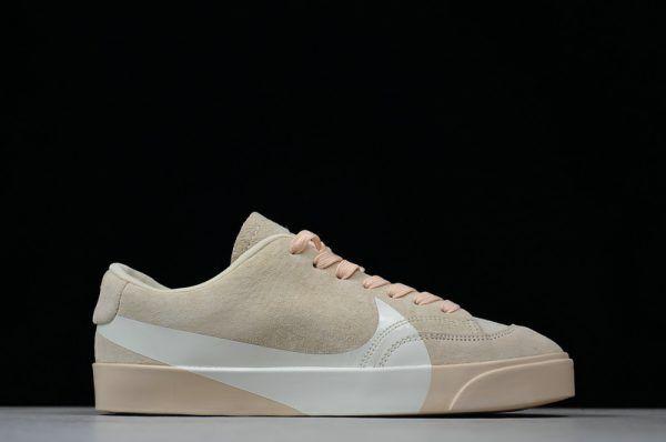 size 40 64f50 81144 Womens Nike Blazer Low Oversized Swoosh LX Pink/White AV2253 ...