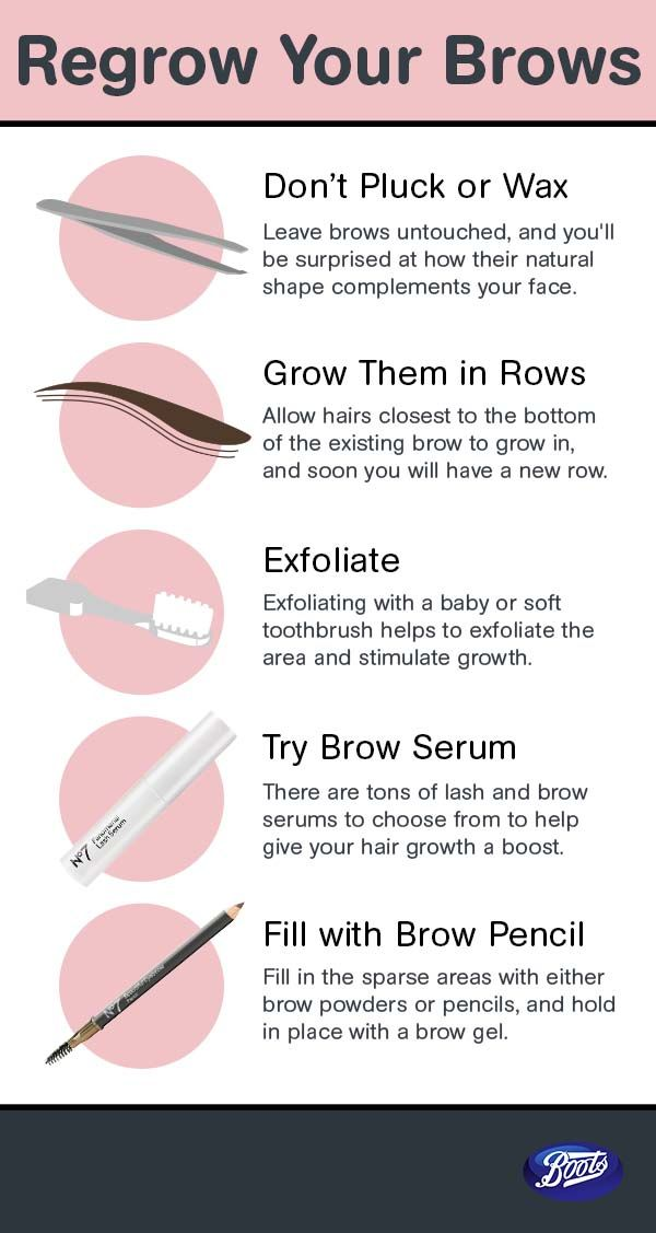 Regrow your brows beautifully with these helpful tips.