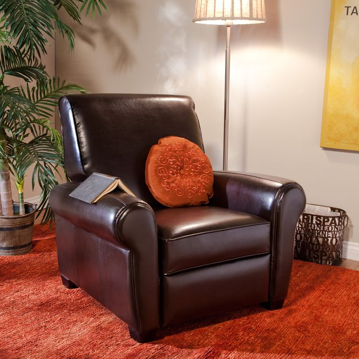 Rolland Leather Reclining Club Chair   Consider It Your Expressway To  Relaxation. The Rolland Leather Reclining Club Chair Is A Classic Yet  Modern Piece Of ... Ideas