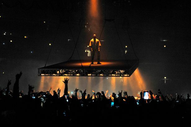 Kanye's latest rant took place in Sacramento on Saturday night, pictured, where he targeted Beyoncé, Jay Z and Hillary Clinton Read more: http://www.dailymail.co.uk/news/article-3958738/Fed-Kim-bickering-constantly-narcissistic-Kanye-West-taking-time-rapper-jealous-Beyonce-seething-rage-Jay-Z-rift.html#ixzz4QjEbPJKB Follow us: @MailOnline on Twitter | DailyMail on Facebook
