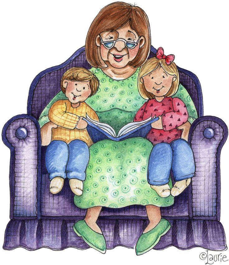 Бабушка и внук картинки для детей нарисованные, днем рождением