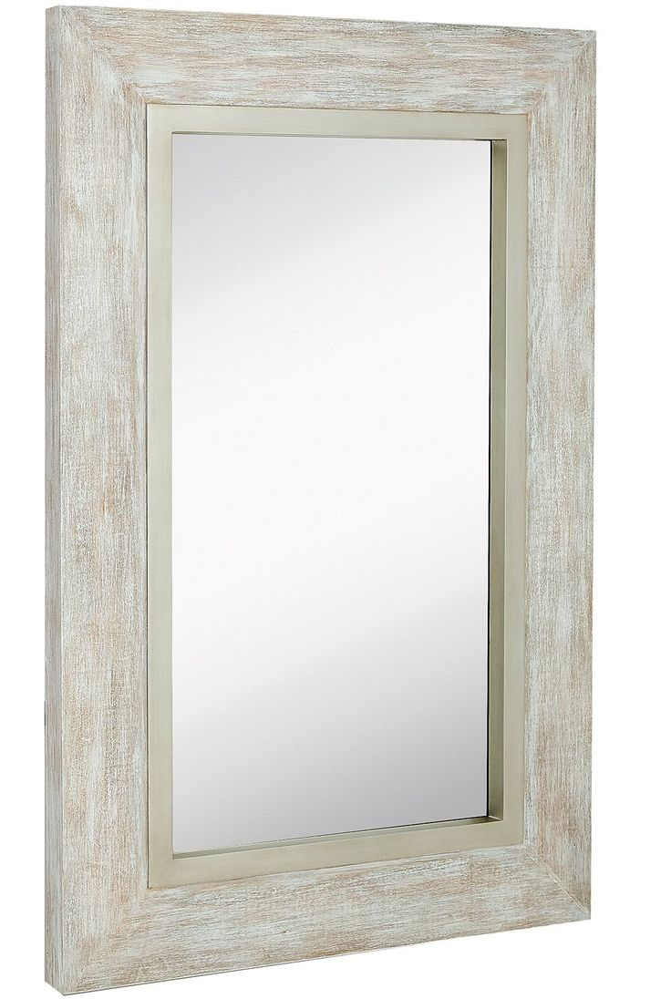 Distressed Wood And Glass Bathroom Wall Cabinet: Best 25+ Large Wooden Mirror Ideas On Pinterest