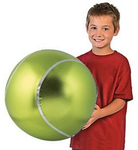Vibrant Jumbo Inflatable Tennis Ball