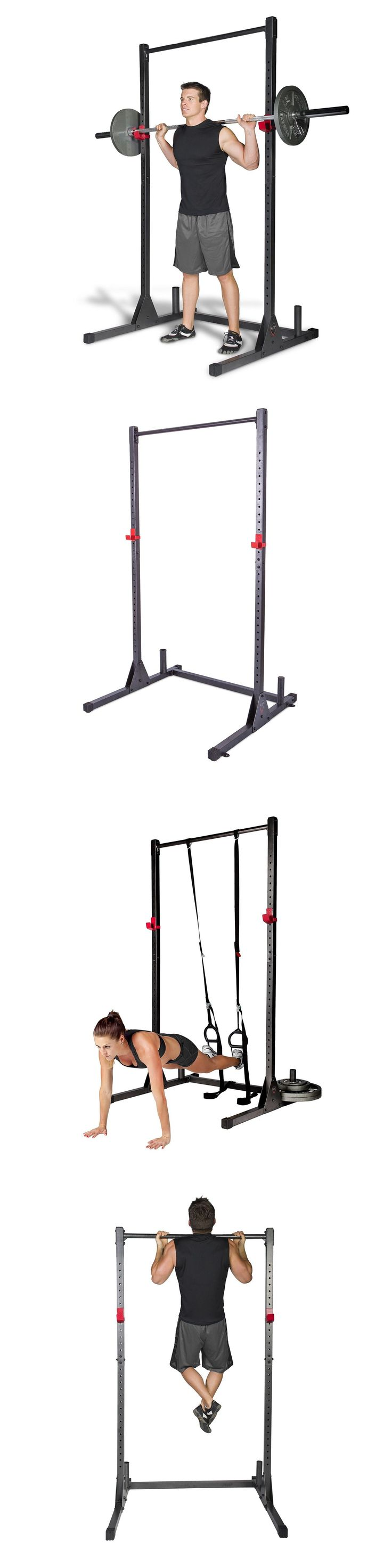 Power Racks and Smith Machines 179815: Home Gym Pull Up Bar Power Rack Exercise Stand Body Building Workout Fitness New -> BUY IT NOW ONLY: $100.75 on eBay!