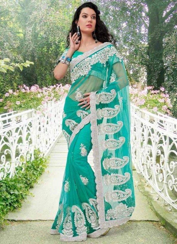 Latest Modern Indian Saree & Blouse Designs Catalogue 2015-16