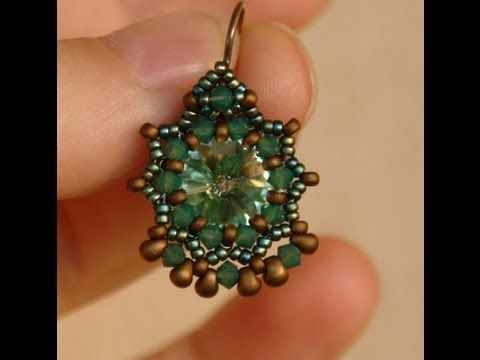 Sidonia 39 s handmade jewelry baroque earrings 12mm rivoli for Terry pool design jewelry