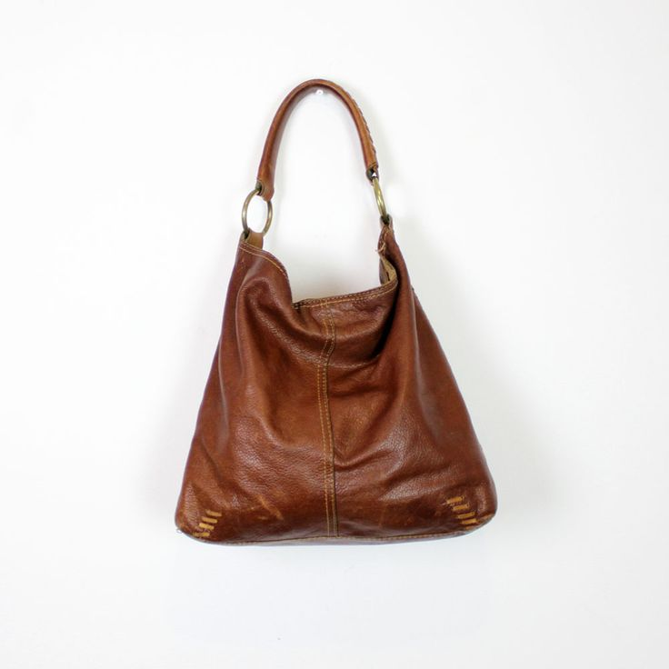 Dark brown leather hobo handbags – Trend models of bags photo blog