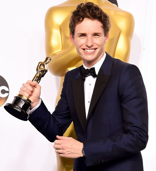 Oscars 2015 the Big Winners.... Performance by an Actor in a Leading Role Eddie Redmayne, The Theory of Everything