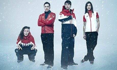 Team GB Winter Olympics kit