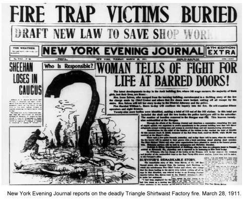 Triangle shirtwaist fire essay