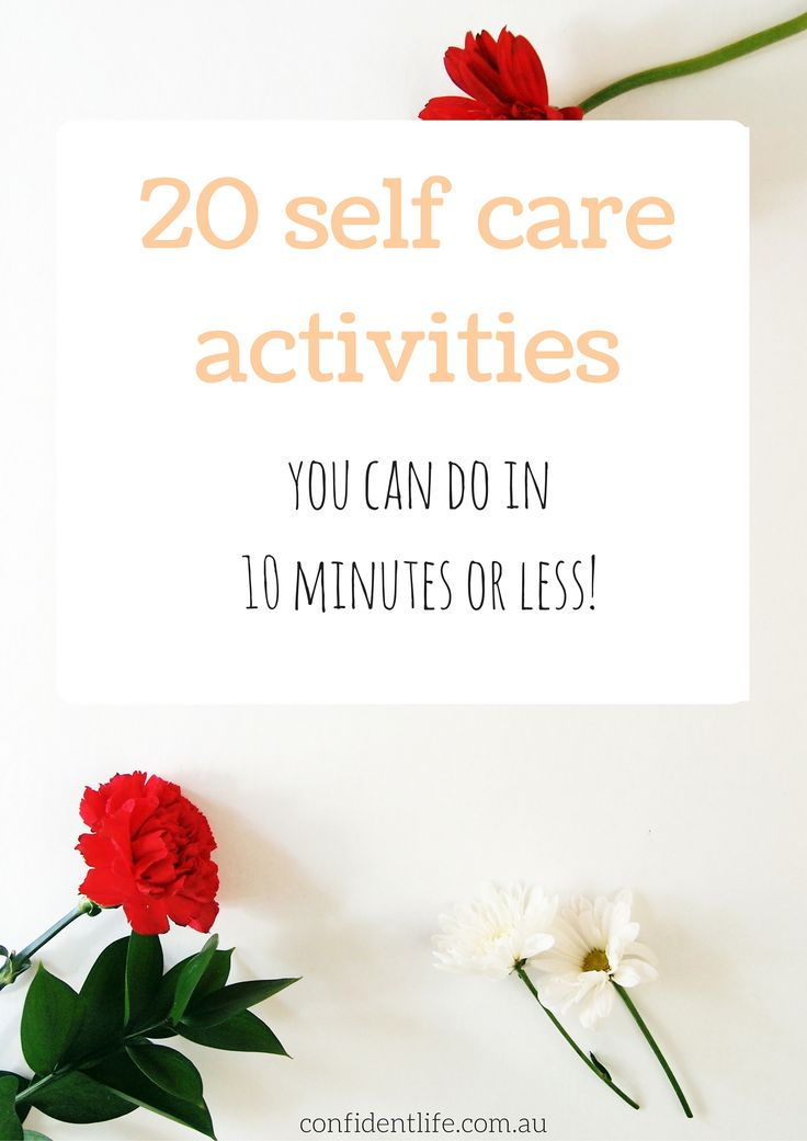 Who has the time for length self care activities? Here are 20 (unique!) tips you can do in 10mins or less. Click through to see them all...