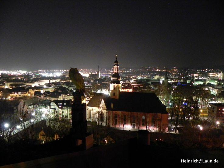 Ein schöner Anblick: Die Pauluskirche in Bad Kreuznach bei Nacht. Sie liegt mitten im Stadtzentrum zwischen Kreuznacher Altstadt und der Neustadt. Mehr Informationen zur Region erhalten sie auf unserem Blog: www.jewels24-news.de. #badkreuznach #pauluskirche