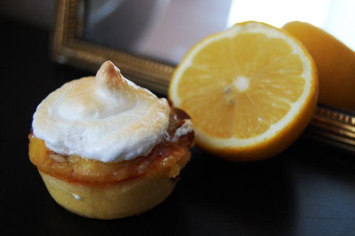 Blog Cuisine & DIY Bordeaux - Bonjour Darling - Anne-Laure: Muffins façon tarte au citron meringuée
