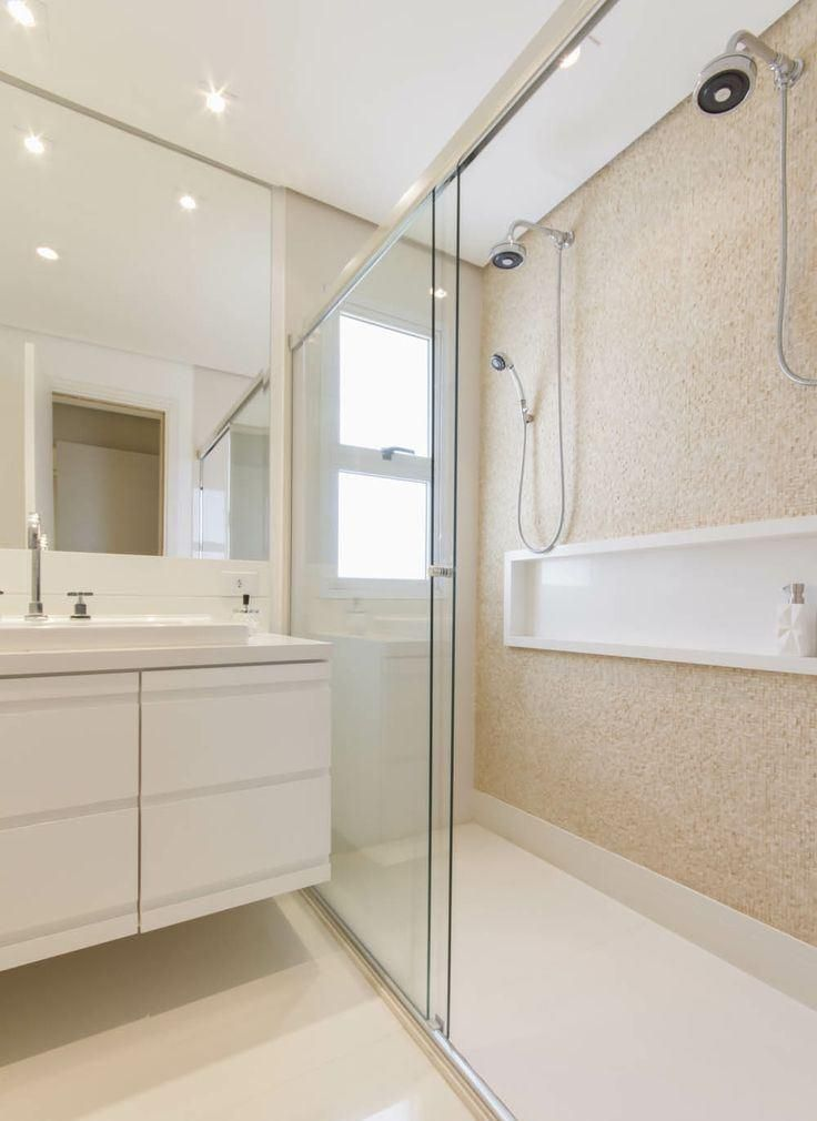 753 best banheiros images on pinterest for Hall bathroom ideas