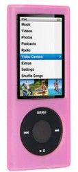 amzer-85300-silicone-skin-jelly-case-pink-for-ipod-nano-5th-gen