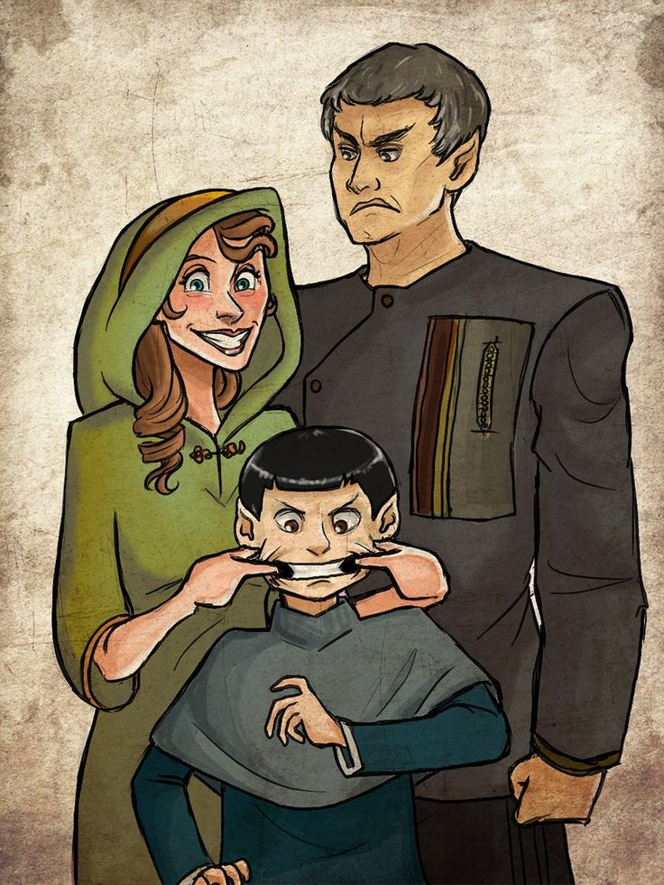 """""""Mother knows best, Spock. You will smile!"""" You cannot hate Amanda <3"""