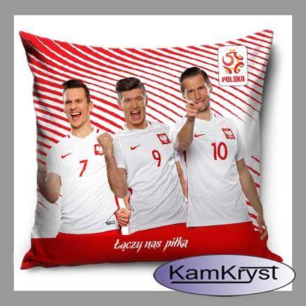 Nowy wzór poduszki z piłkarzami naszej reprezentacji piłkarskiej - już dostępny na stronach sklepu.