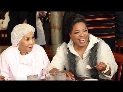 Oprah and Gayle Visit Sweetie Pie's - Oprah's Lifeclass - Oprah Winfrey ...