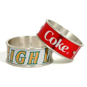 Aluminum Can Bracelet