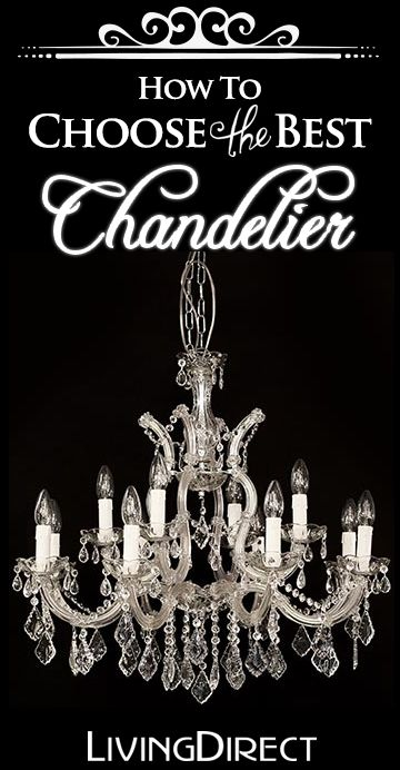 146 best chandeliers images on pinterest crystal chandeliers how to choose the best chandelier buyers guide barn house decormake aloadofball Choice Image