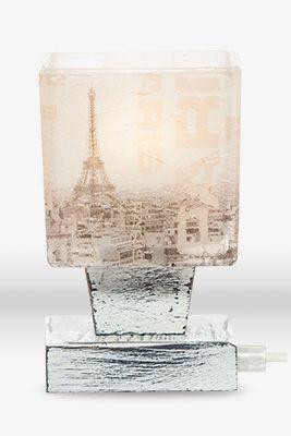 Lampka SCANDIA PARIS. Lampa prowansalska. Ręcznie wykonana.