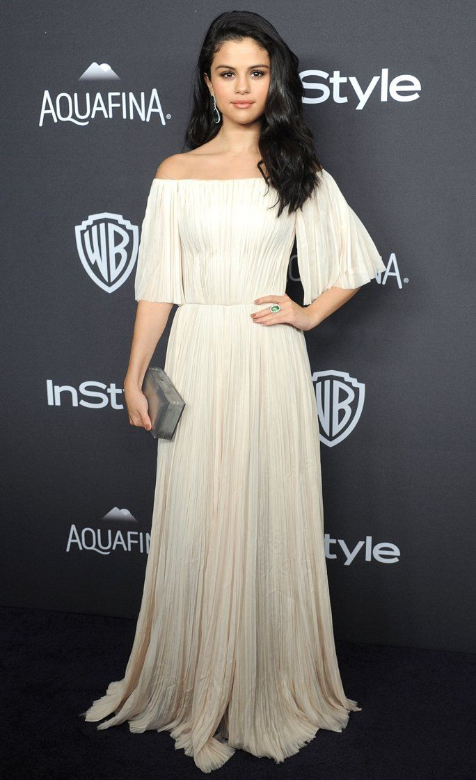 Selena Gomez Was on the Prowl for Hot Guys at the InStyle Golden Globes…