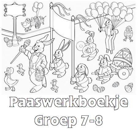 Paaswerkboekje Groep 7-8