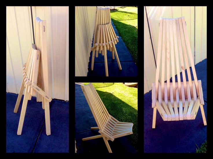 Click Clack fold up chair   Find us on Facebook
