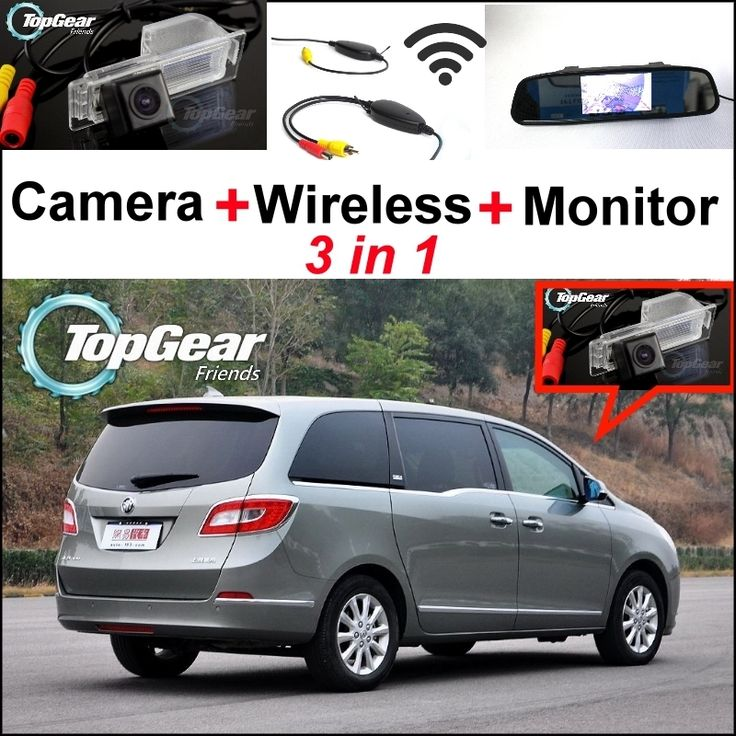 66.53$  Watch more here  - 3in1 Special WiFi Rear Camera + Wireless Receiver + Mirror Monitor Parking BackUp System For Buick GL8 2011~2014