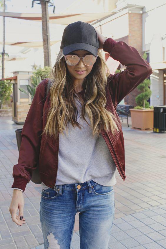 25 Ideas para usar una gorra y darle un toque rebelde a tu look  aca8f12124a