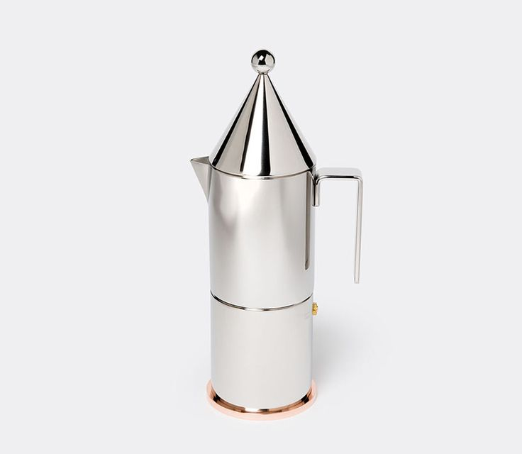 17 Modern Coffee Makers That You'll Want To Show Off // The design of this moka pot coffee maker is simple and quirky at the same time.