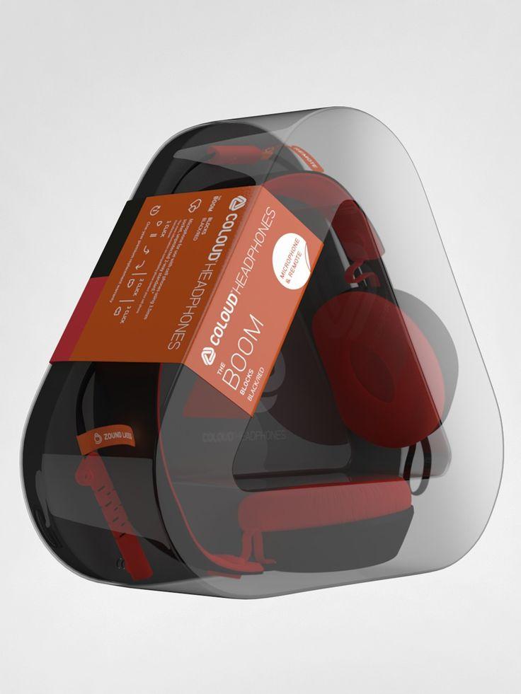 Great earphone #packaging #design PD