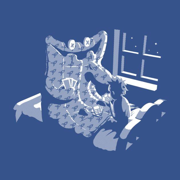 Awesome 'Duvet+Monster' design on TeePublic!