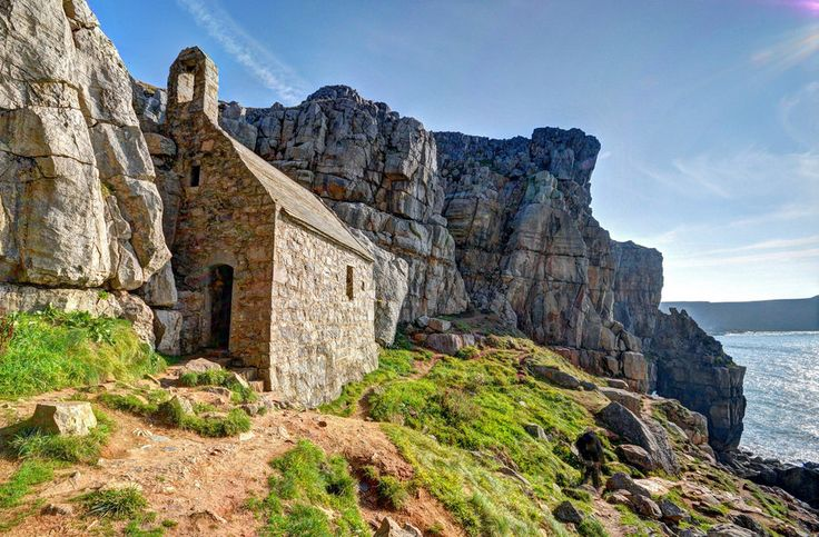 St Govans Chapel, Pembrokeshire. | 25 Places In Wales You Won't Believe Are Real
