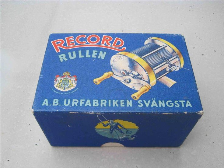 ABU Record 1700 på Tradera.com - Fiskerullar äldre  