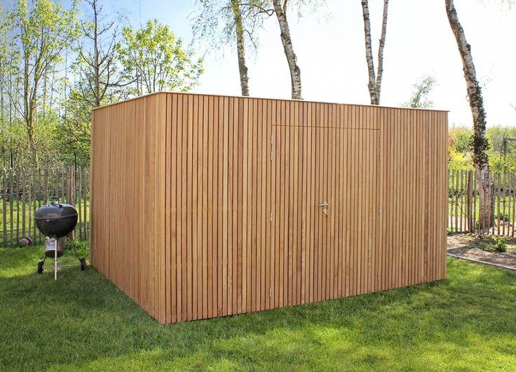 Bel Woodstar voor het leveren van moderne tuinhuizen van het merk Milano