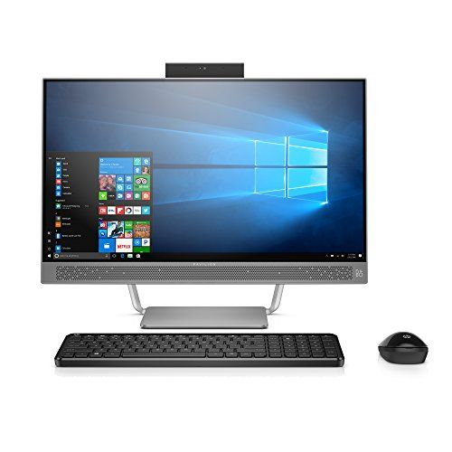 """awesome HP Pavilion 24-a210 23.Eight"""" All-in-One Desktop"""