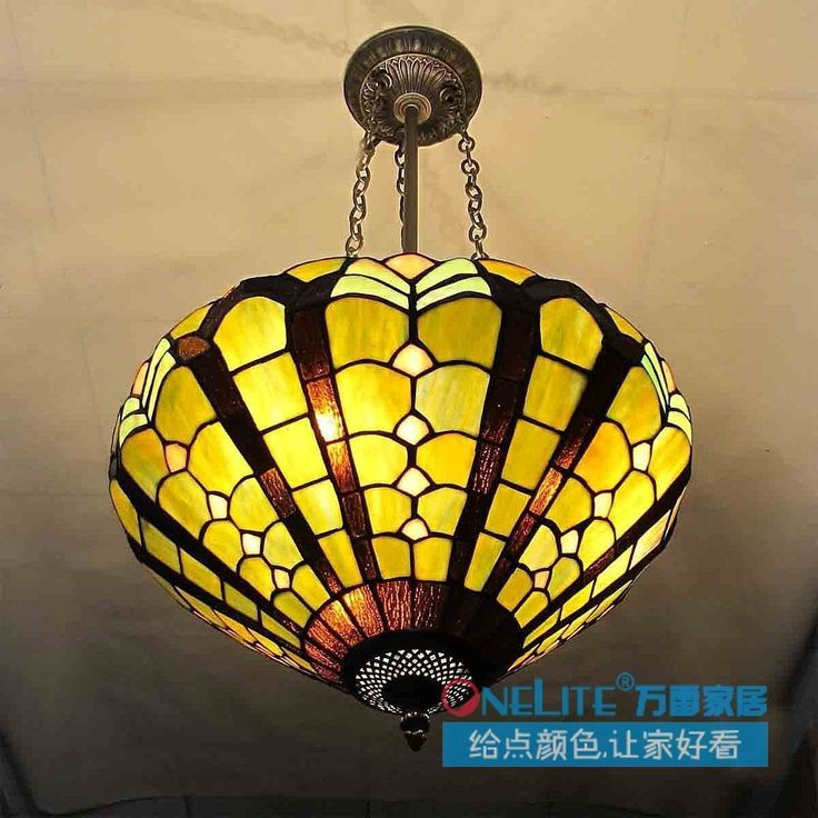 new arrival Dry 1 multicolour glass tiffany lamp 16 dome light free shipping $395.70
