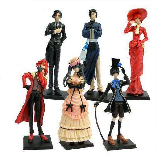 Anime Characters 169 Cm : Anime kuroshitsuji black butler characters figure set