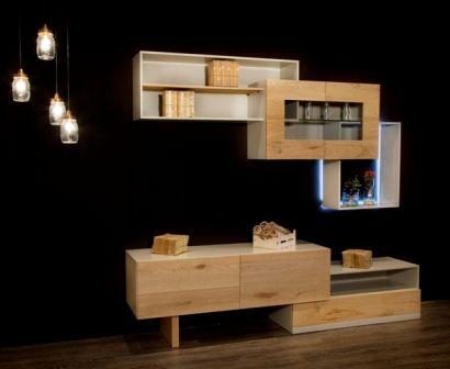 Casa Ampia-Unit Box- έπιπλο tv - καθιστικό-διακόσμηση σαλονιού-ξύλο Δρυός -solid wood