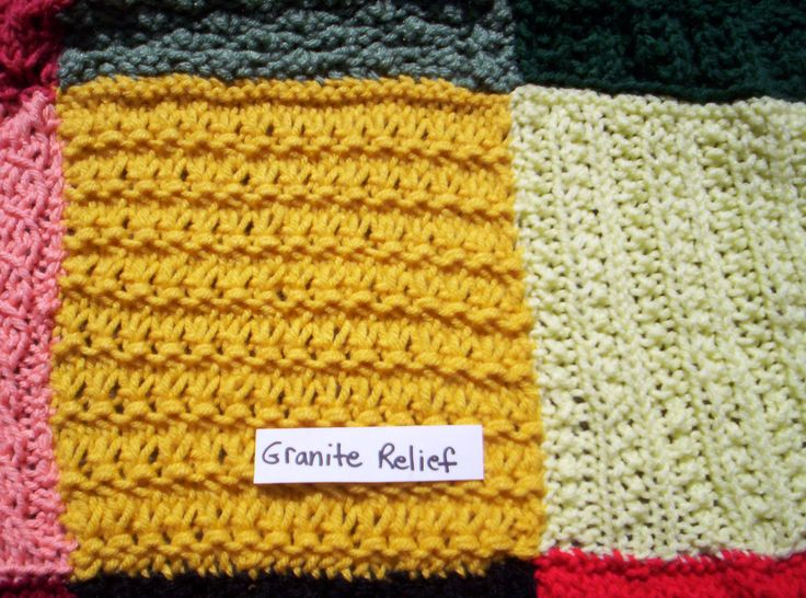 116 Best Knitted Squares Blanket Images On Pinterest Knitting